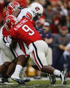 Georgia linebacker Alec Ogletree. (Courtesy; Flickr)