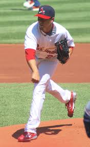 Kyle Lohse during a 2012 start as a member of the St. Louis Cardinals. (Credit: Wikipedia)