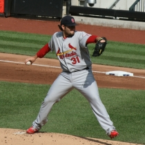 Cardinals pitcher Lance Lynn. (Courtesy: Wikipedia)