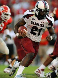 South Carolina running back Marcus Lattimore. (Photo: Gary Bogdon/SI)