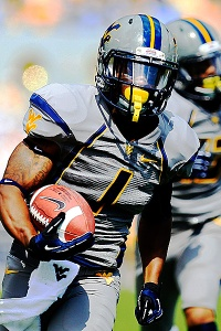 WVU wide receiver Tavon Austin. Photo via Tumblr