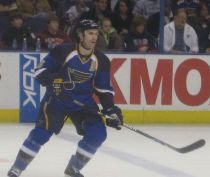 Blues defenseman Barrett Jackman. (Credit: Wikipedia)